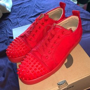 Christian Louboutin Louis Junior Spikes Orlatos